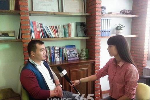 合肥热线·365地产家居网专访谢明星_合肥工装公司