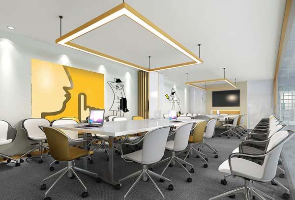 网络公司办公室装修如何设计才能不庸俗?