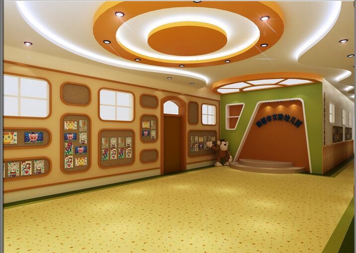星星实验幼儿园装修设计
