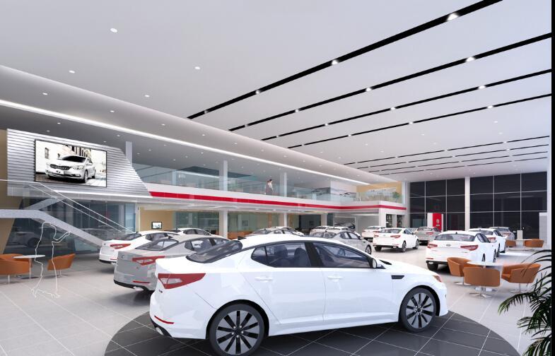 东风悦达汽车展厅装修设计效果图