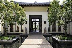 中式禅意酒店装修设计