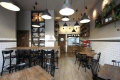 街角咖啡厅设计
