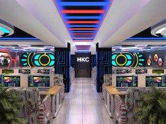 HKC竞技网吧网咖设计装修