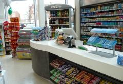 超市便利店收银台装修设