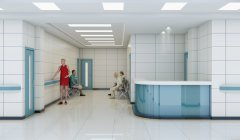 城镇农村商业医院装修设计
