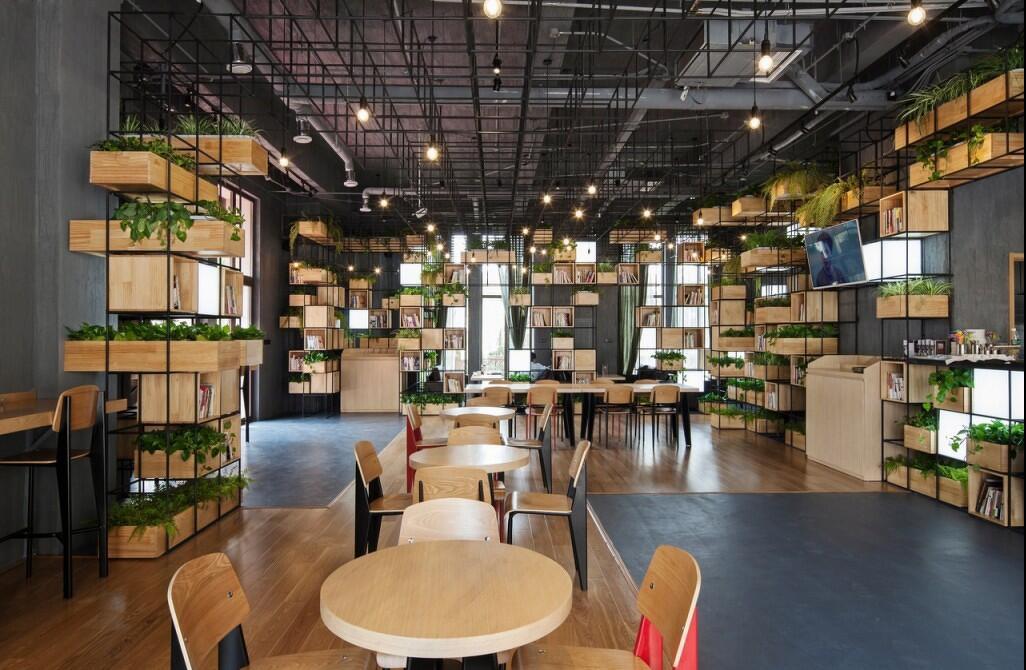 简易咖啡店设计