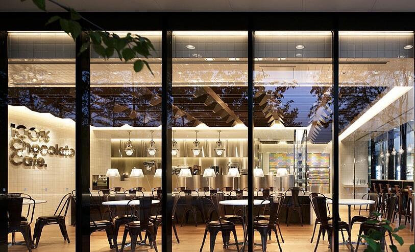 百分百巧克力咖啡店设计