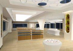 奇娜思展厅装修设计