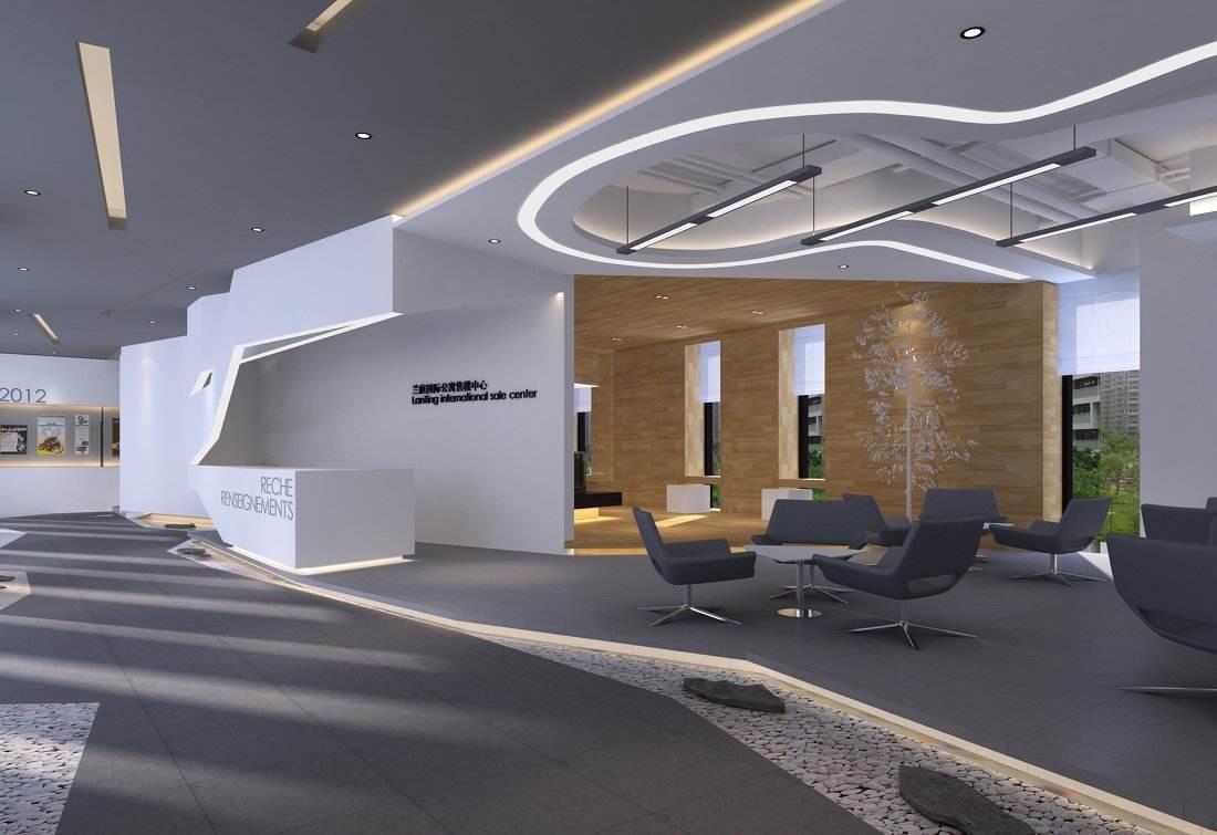合肥售楼部设计,如何设计流线型的曲线造型